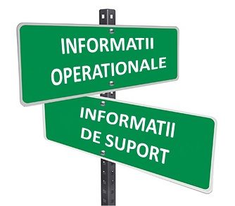 Informatii de suport vs informatii operationale